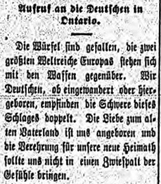 BJ-1914-08-12-Appeal to the Germans in Ontario