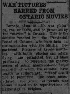 Ontario movies