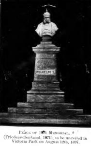 Bust of Kaiser Wilhelm I, 1897