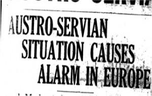 Increasing Tensions (25 July 1914)