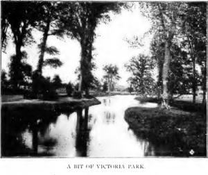 Photograph of Victoria Park, 1912