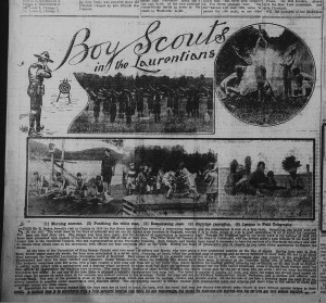 Berlin Daily Telegraph-1915-07-06-Boy Scouts in the Laurentians
