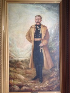 Portrait of Lord Kitchener at Kitchener City Hall