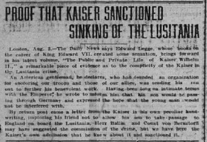 Proof Kaiser Sanctioned
